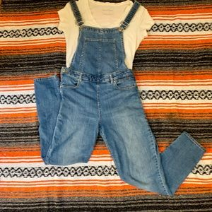 Pants - Adorable Cross-backed, Fitted Overalls